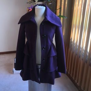 Great condition Steve madden, small  purple coat